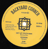 Murray Man - Get Up Youth Man / Jacin - Stand Up Youth Man (Backyard Corner) 12""